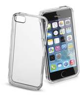 Cellularline Invisible - iPhone 5S/5 Cover rigida trasparente, mantiene il design inalterato Trasparente