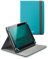 "Cellularline Stand Case - Tablet Fino a 10.1"" Custodia universale per tablet, elegante e pratica Verde"