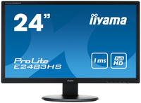 "iiyama ProLite E2483HS-B1 24"" Full HD TN Opaco Nero monitor piatto per PC LED display"