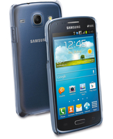 Cellularline Invisible - Galaxy Core Duos/Core Cover rigida trasparente, mantiene il design inalterato Trasparente