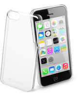 Cellularline Invisible - iPhone 5C Cover rigida trasparente, mantiene il design inalterato Trasparente