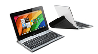Acer Crunch Keyboard A3-A10 Bluetooth Francese Nero, Argento tastiera per dispositivo mobile
