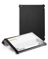 Cellularline Smart Case Grip - iPad Air Custodia con stand dal minimo ingombro Nero