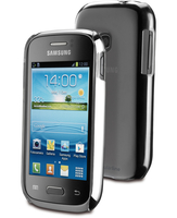 Cellularline Invisible - Galaxy Young Cover rigida trasparente, mantiene il design inalterato Trasparente