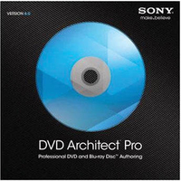 Sony DVD Architect Pro 6.0