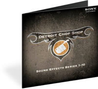 Sony The Detroit Chop Shop Series 1-10