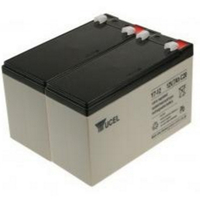 2-Power 2 x 12 V, 7 Ah, VRLA Sealed Lead Acid (VRLA) 7Ah 12V