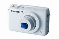 "Canon PowerShot N100 Fotocamera compatta 12.1MP 1/1.7"" CMOS 4000 x 3000Pixel Bianco"