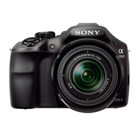 Sony a 3000 + E 18-55mm F3.5-5.6 OSS Kit fotocamere SLR 20.1MP CMOS 5456 x 3632Pixel Nero