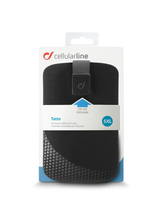 "Cellularline Tatto - Per Smartphone fino a 6.5"" Custodia a fondina con interno in microfibra Nero"