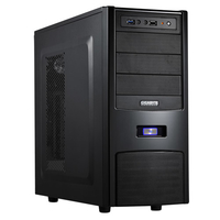Gigabyte IF-333 Midi-Tower Nero vane portacomputer