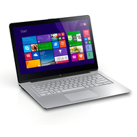 "Sony VAIO Fit 14A 1.6GHz i5-4200U 14"" 1920 x 1080Pixel Touch screen Argento Computer portatile"