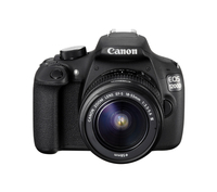 Canon EOS 1200D + EF-S 18-55mm f/3.5-5.6 IS II Kit fotocamere SLR 18MP CMOS 5184 x 3456Pixel Nero