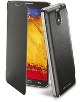 Cellularline Flip-Book - Galaxy Note 3 Custodia a libro ultra-slim che esalta il design Nero