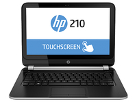 "HP 210 G1 1.7GHz i3-4010U 11.6"" 1366 x 768Pixel Touch screen Nero, Argento Computer portatile"