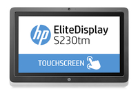 "HP Monitor touch da 23"" S230tm EliteDisplay"