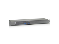 LevelOne FEP-1601 Fast Ethernet (10/100) Supporto Power over Ethernet (PoE) Grigio, Metallico