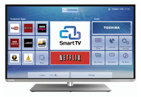 "Toshiba 40L5453DB 40"" Full HD Compatibilità 3D Smart TV Wi-Fi Nero LED TV"