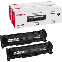 Canon CRG-718 Bk VP Laser cartridge 3400pagine Nero