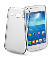 Cellularline Invisible - Galaxy Core Plus Cover rigida trasparente, mantiene il design inalterato Trasparente