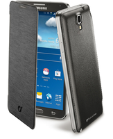 Cellularline Flip-Book - Galaxy Note 3 Neo Custodia a libro ultra-slim che esalta il design Nero