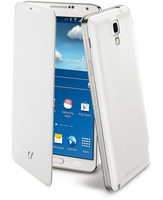 Cellularline Flip-Book - Galaxy Note 3 Neo Custodia a libro ultra-slim che esalta il design Bianco