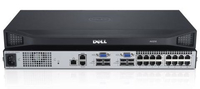 DELL DAV2216-G01 1U Argento switch per keyboard-video-mouse (kvm)