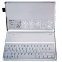 Acer NK.BTH13.00T Inglese UK Argento tastiera per dispositivo mobile