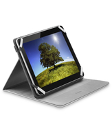 "Cellularline Stand Case - Tablet Fino a 7"" Custodia universale per tablet, elegante e pratica Bianco"