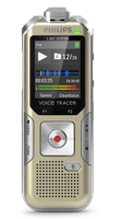 Philips Voice Tracer DVT6500 Flash card Argento dittafono