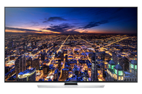 "Samsung UE48HU7500T 48"" 4K Ultra HD Compatibilità 3D Smart TV Wi-Fi Nero, Argento LED TV"