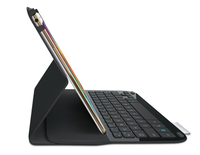 Logitech Type S Bluetooth AZERTY Francese Nero, Carbonio tastiera per dispositivo mobile