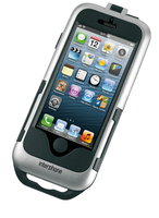Cellularline SMIPHONE5SILVER Motocicletta Passive holder Nero, Argento supporto per personal communication