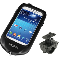 Cellularline SMGALAXYS4R Motocicletta Passive holder Nero supporto per personal communication