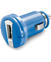 Cellularline USB Car Charger Micro - Universale Caricabatterie 5W compatto Blu