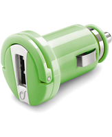 Cellularline USB Car Charger Micro - Universale Caricabatterie 5W compatto Verde