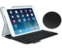 Logitech 920-006142 Bluetooth AZERTY Francese Nero, Bianco tastiera per dispositivo mobile