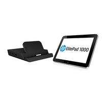 HP 1000 G2 + ElitePad Docking Station 64GB Argento tablet