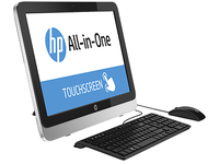 "HP 22-2010d 2.7GHz G3240T 21.5"" 1920 x 1080Pixel Touch screen Nero, Argento PC All-in-one"