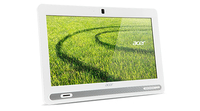 "Acer Aspire ZC-602 1.6GHz 1017U 19.5"" 1600 x 900Pixel Bianco PC All-in-one"
