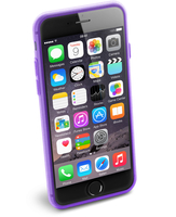 Cellularline Color Slim - iPhone 6S/6 Cover morbida e super colorata Viola