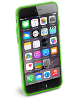 Cellularline Color Slim - iPhone 6S/6 Cover morbida e super colorata Verde