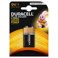 Pile Duracell Plus - transistor 9V  - conf. 1