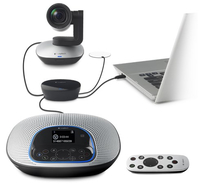 Logitech CC3000e 1920 x 1080Pixel USB 2.0 Nero webcam