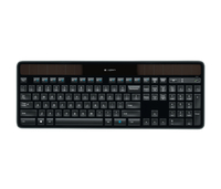 Logitech K750 + Anywhere Mouse MX RF Wireless QWERTY Nero tastiera