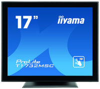 "iiyama ProLite T1732MSC-B1X 17"" 1280 x 1024Pixel Multi-touch Multi utente Nero monitor touch screen"