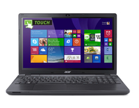"Acer Aspire E5-511P 2.16GHz N3530 15.6"" Touch screen Nero Computer portatile"