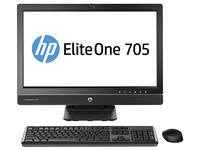 "HP EliteOne 705 G1 3.1GHz A8 PRO-7600B 23"" 1920 x 1080Pixel Nero PC All-in-one"