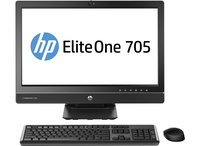 "HP EliteOne 705 G1 3.4GHz A4 PRO-7350B 23"" 1920 x 1080Pixel Nero PC All-in-one"
