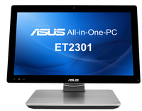 "ASUS ET 2301INTH-B08Q 3.1GHz i7-4770S 23"" 1920 x 1080Pixel Touch screen Nero, Argento PC All-in-one"